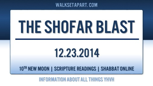 Shofar Blast Master Title page