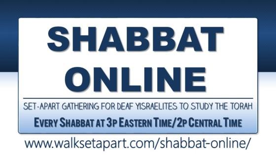 Walksetapart logo-Shabbat Online