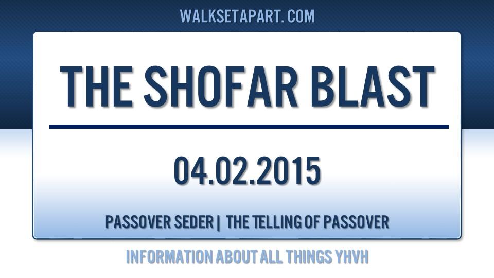 Shofar Blast 04.02.2015
