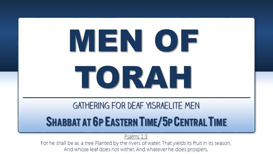 Walksetapart logo-Men of Torah